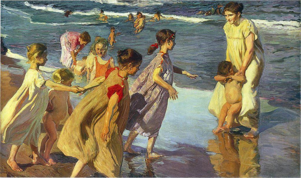 Joaquín Sorolla - L'été (huile sur toile) - 1904 La Havane, Museo Nacional Bellas Artes