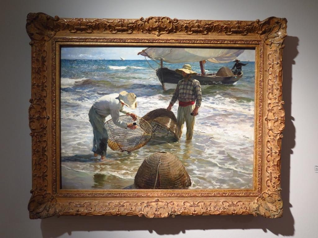 Joaquín Sorolla - Pêcheurs valenciens (huile sur toile) - 1895 Collection Broere Charitable Foundation