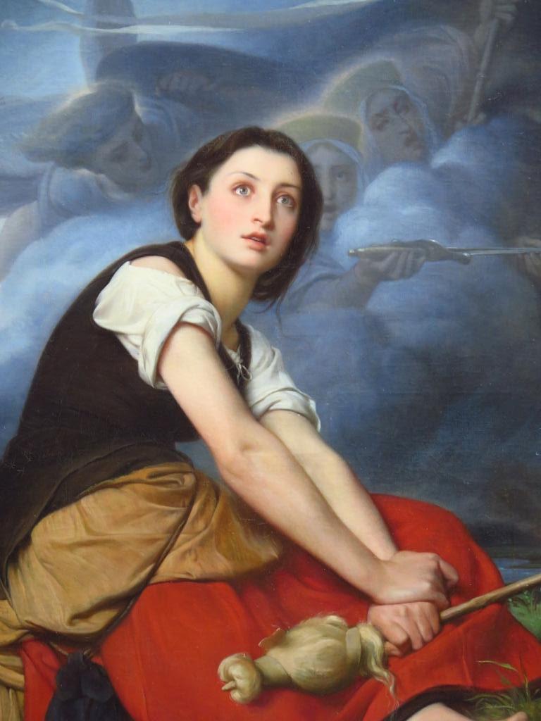 Jeanne d'Arc écoutant ses voix (détail) / Léon François Bénouville Musée des Beaux-Arts de Rouen, dépôt du Fonds National d'Art Contemporain