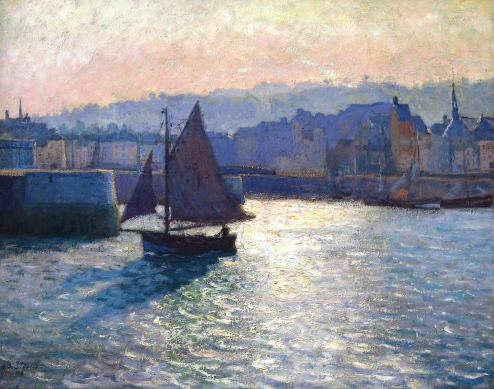 Le Port d'Honfleur - René de Saint-Delis - 1905 Musée des Beaux-Arts de Rouen, donation François Depeaux