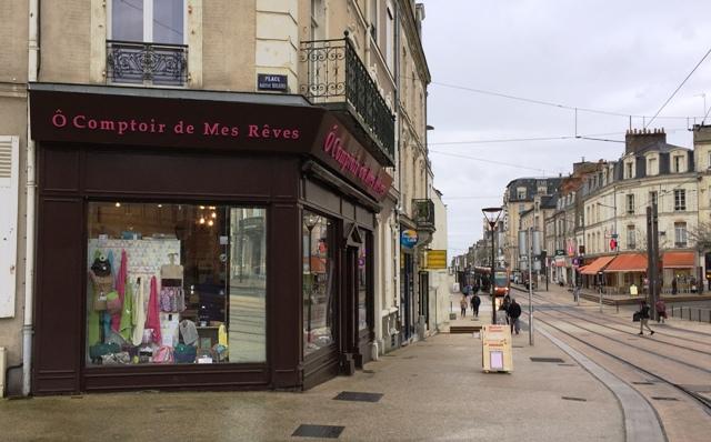 Ô Comptoir de mes Rêves 3-4 place Aristide Briand, Le Mans (tramway : arrêt Préfecture)