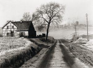 """Paysage près d'Essen et charbonnage """"Rosenblumendelle"""" - 1928"""