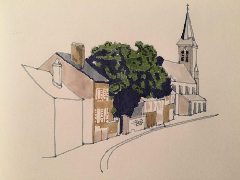 MarieGrancey_Village_feutre3