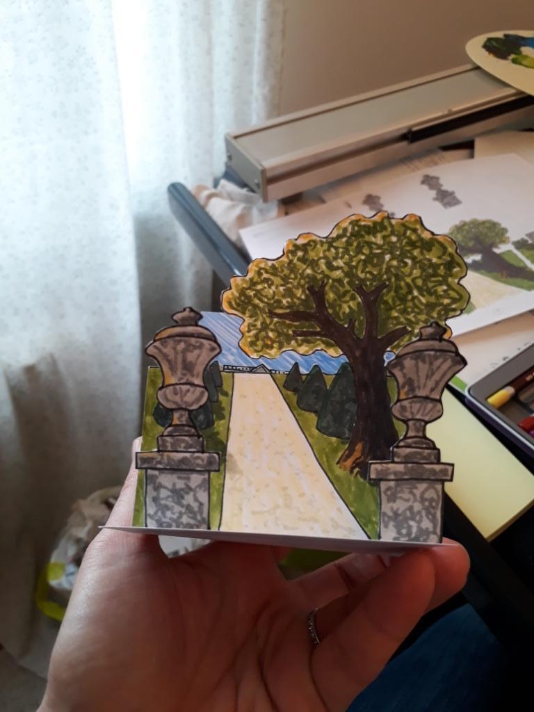 Diorama parc du château
