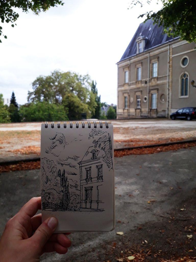 Croquis du Musée de Tessé